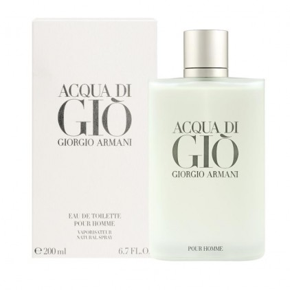 aqcua di gio 200 ml men
