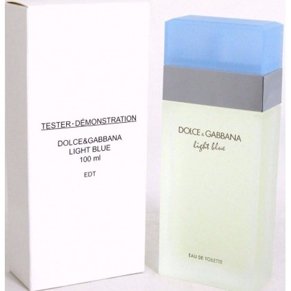 TESTER LIGHT BLUE 100 ML WOMAN