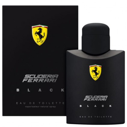 FERRARI BLACK 125 ML