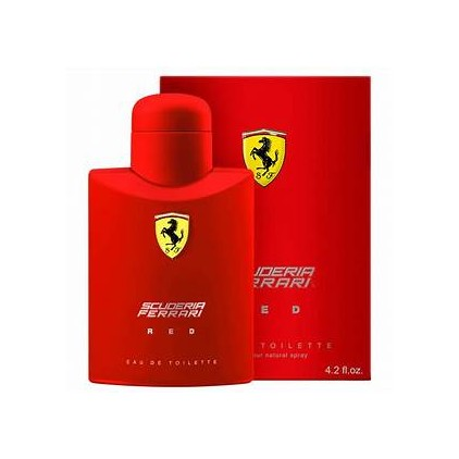FERRARI RED SCUDERIA 125 ML