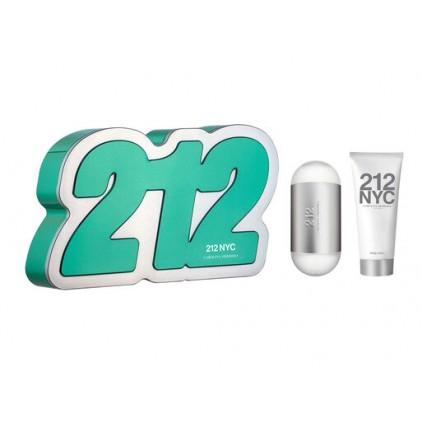 SET 212 NYC 100 ML EDT + BODY 100 ML